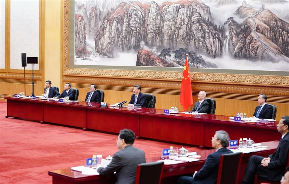 Xi proposes pandemic firewall free trade for world economic recovery