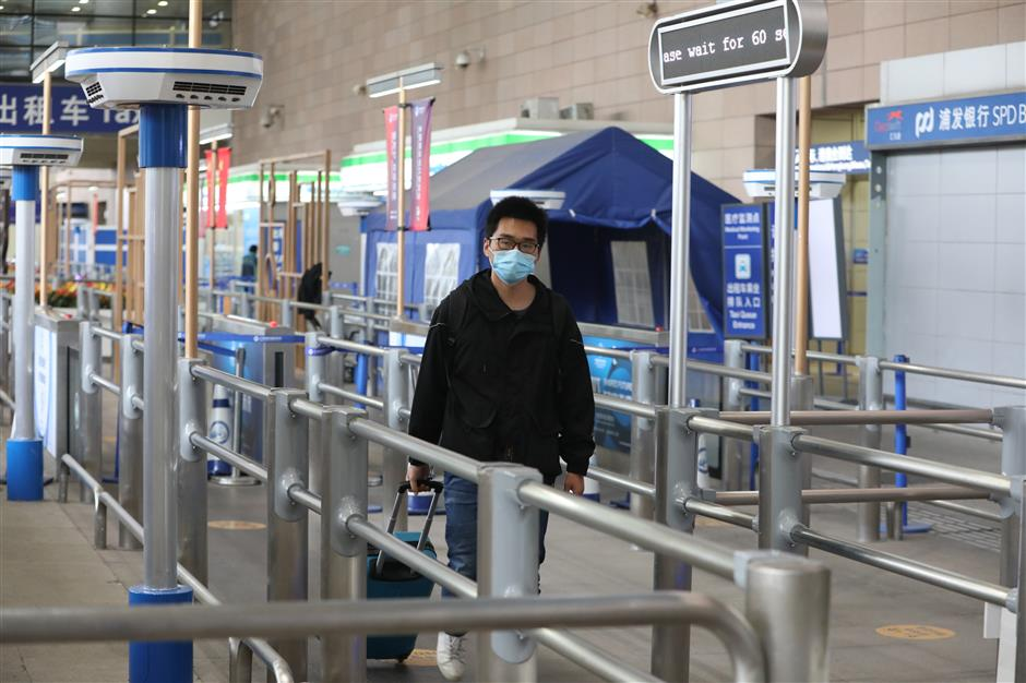 Strict measures at Pudong airport for freight