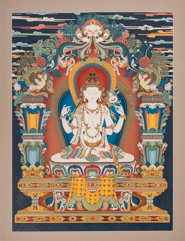 Tibetan official donates thangka to WorldSkills Museum