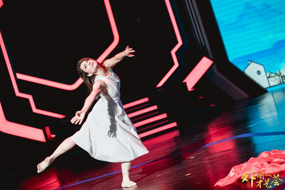 Suzhous foreign residents stage talent show