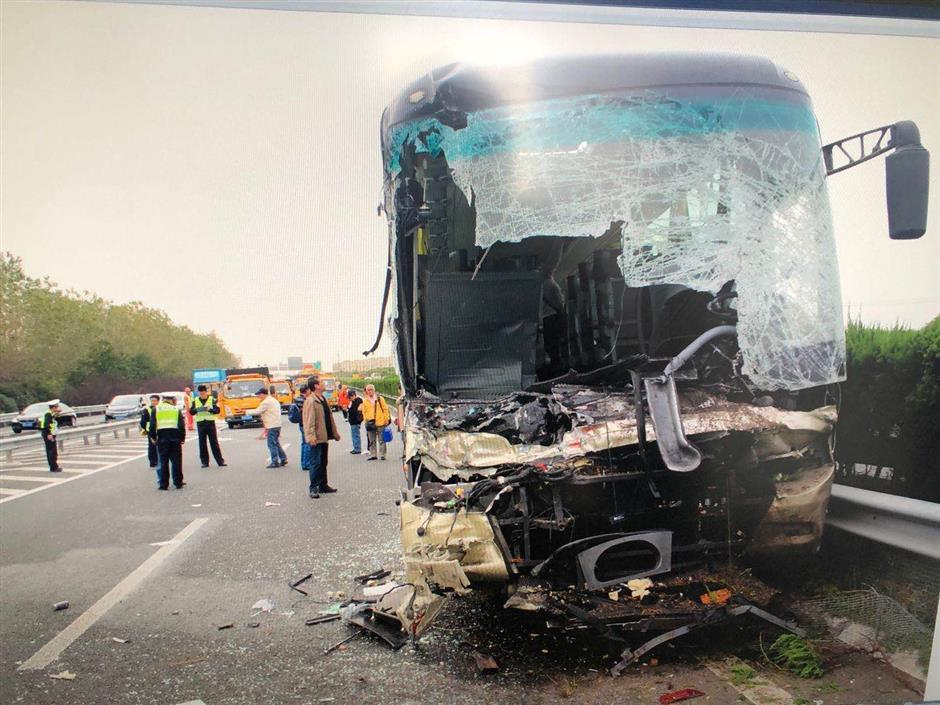 Company fined after bus drivers accident
