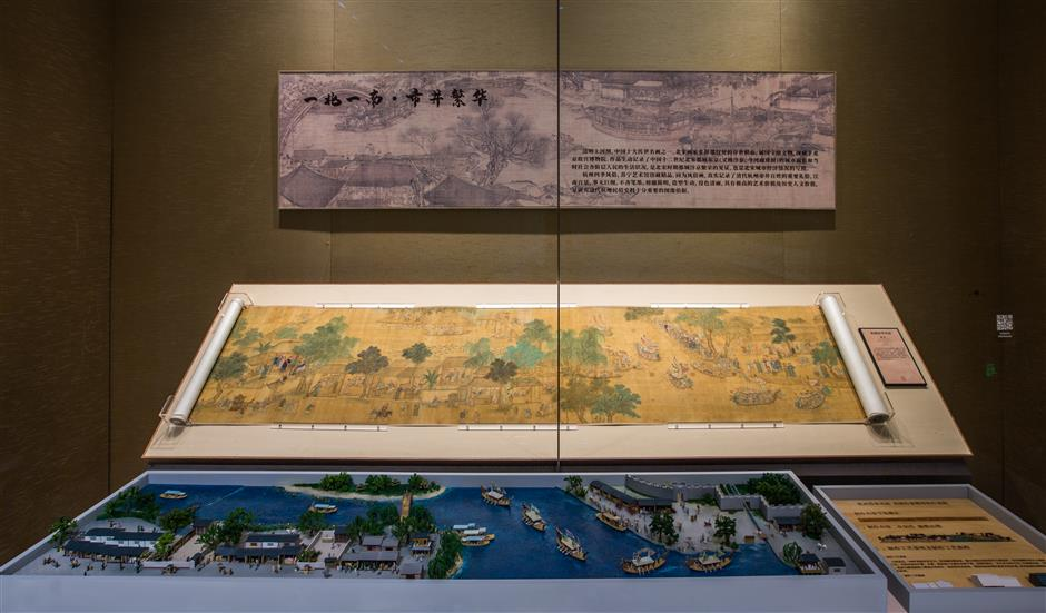 Museums paintings depictJiangnan culture