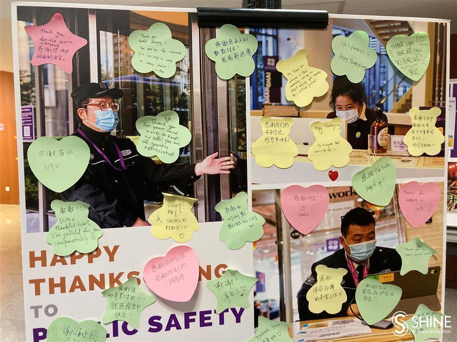 NYU Shanghais students celebrate Thanksgiving