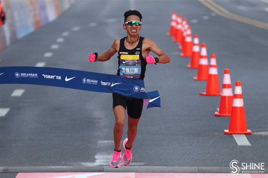 Shanghai Marathon runs smoothly with best result