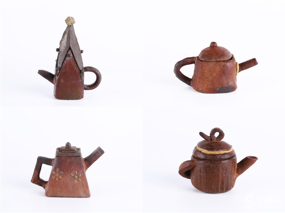 Art masters take autistic children under their wings to teach teapot-making skills