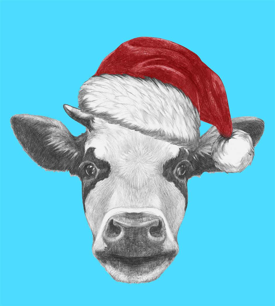 Christmas shopping in Shanghai: Why a cow might be the most vital gift you give this year