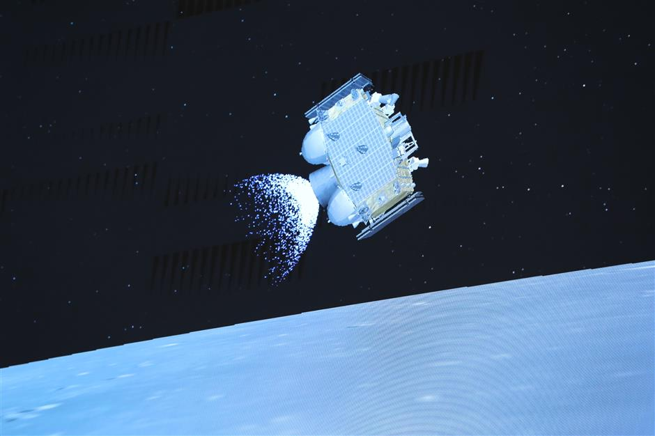 Chinas spacecraft takes off from moon with samples