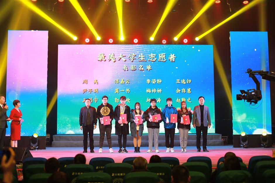 Volunteers of China International Import Expo honored