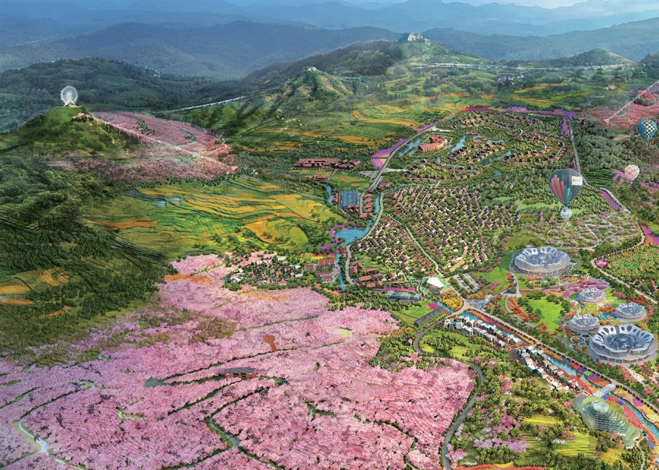 Shandongs backyard garden hopes to lure investment and tourists from city