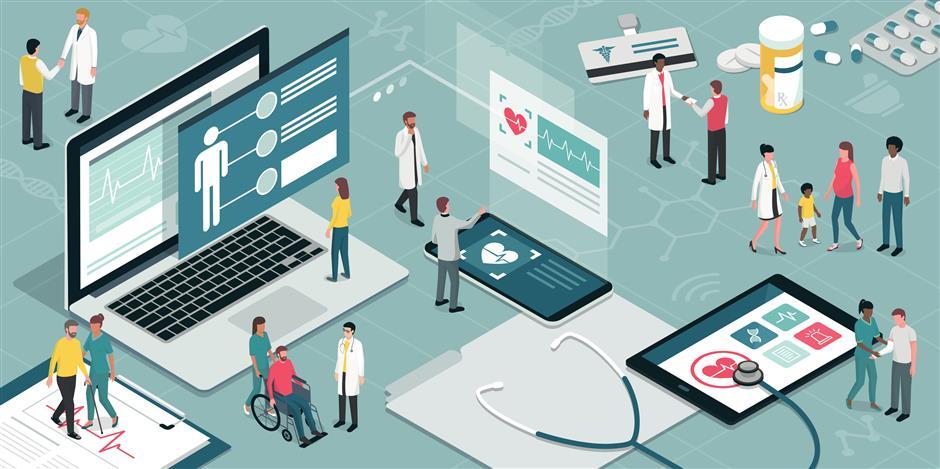 Surge in health care companys share price