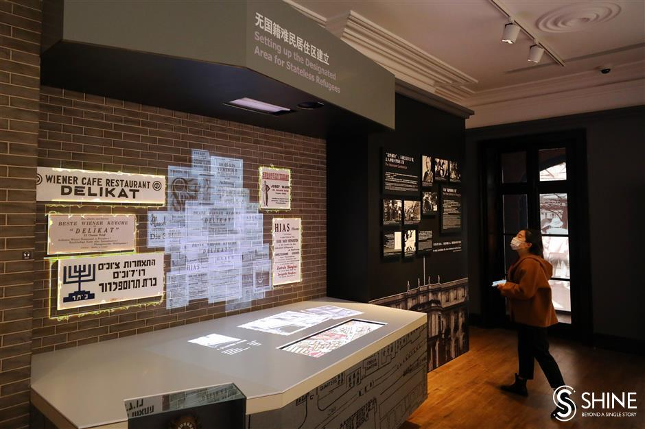 Expanded Jewish museum documents bittersweet refugee era in Shanghai