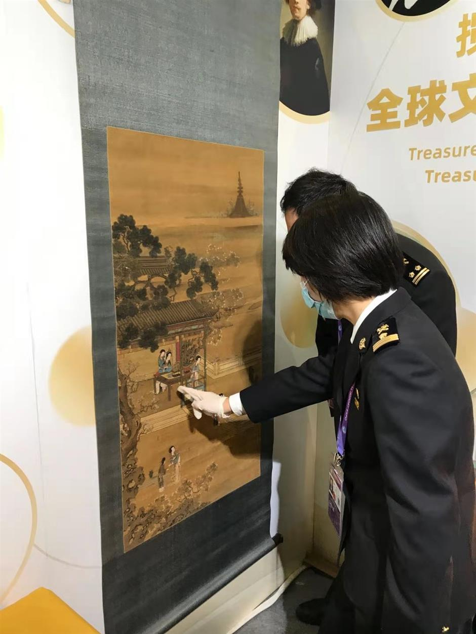 Ancient paintings bought by Chinese buyer