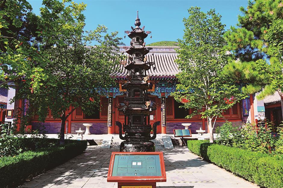 Ancient Buddhist texts discovery signals rebirth of Yunju Temple