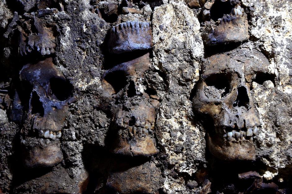 More remains discovered at skull tower