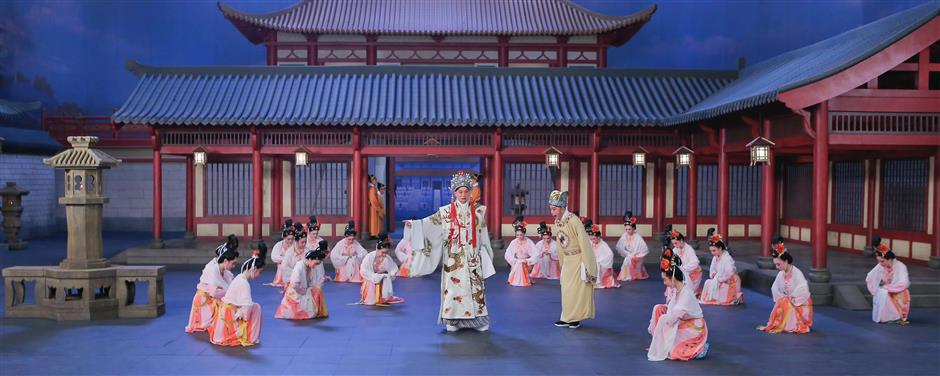 Opera movie The Height of the Early Tang Dynasty scoops Golden Rooster honor