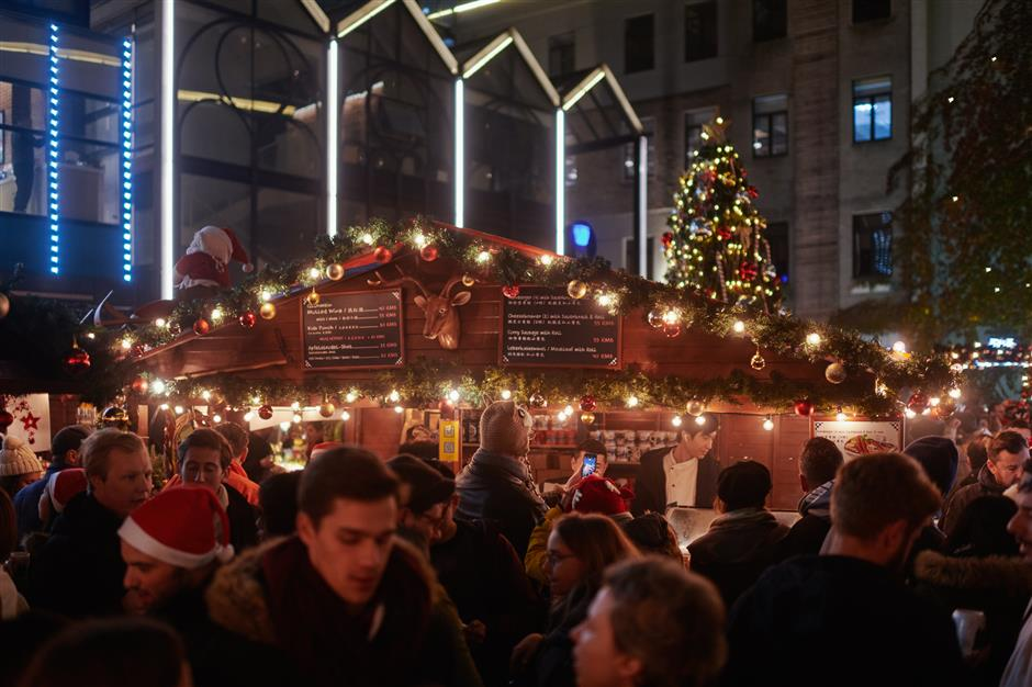 Holiday activities abound across the city