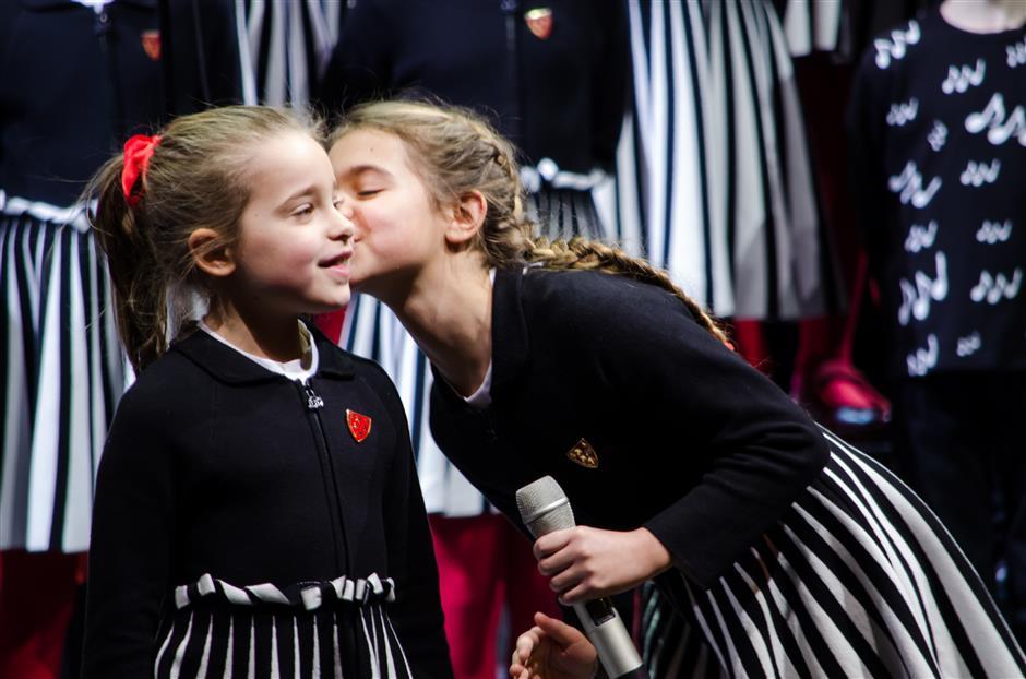 Il tour del coro dei bambini italiani diventa virtuale