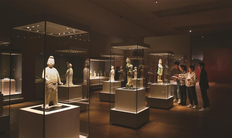 Exhibition of ancient city ahead of its time