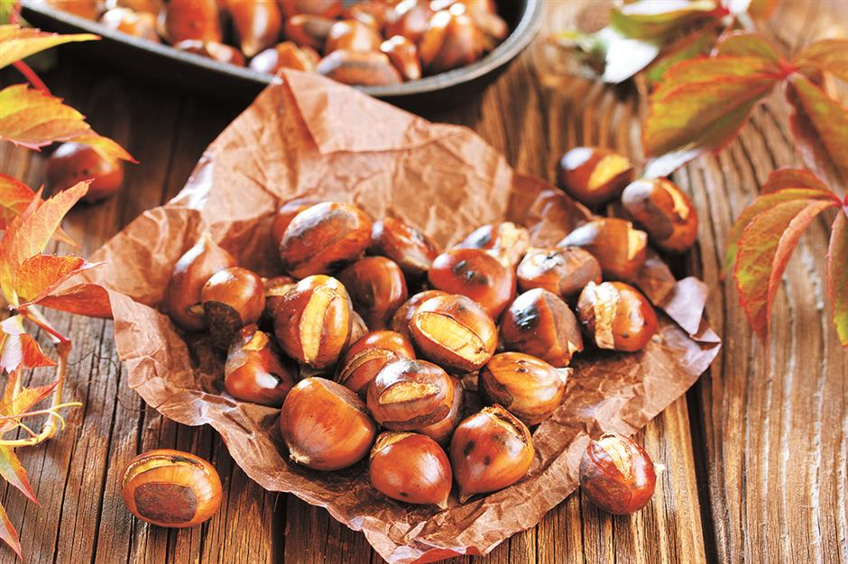 Raw or cooked, choose chestnuts