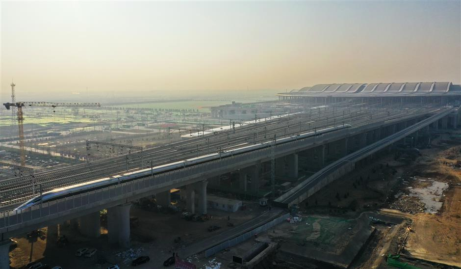 New railway links Beijing with city of future for coordinated development
