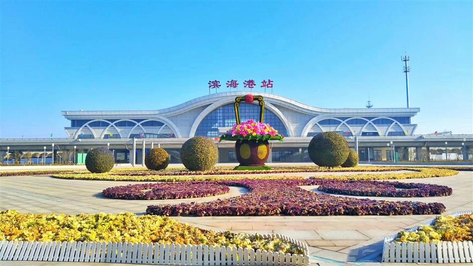 Binhai county developing at breakneck clip
