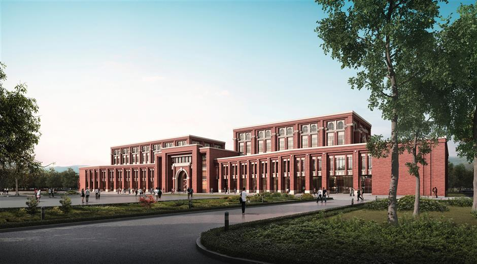 East China University of Political Science and Law expanding its campus