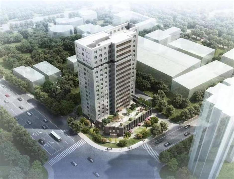 Construction projects booming in Yangpu District