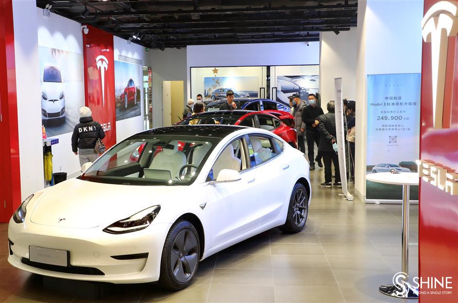 Tesla lowers prices, firing a shot across the bow of rivals