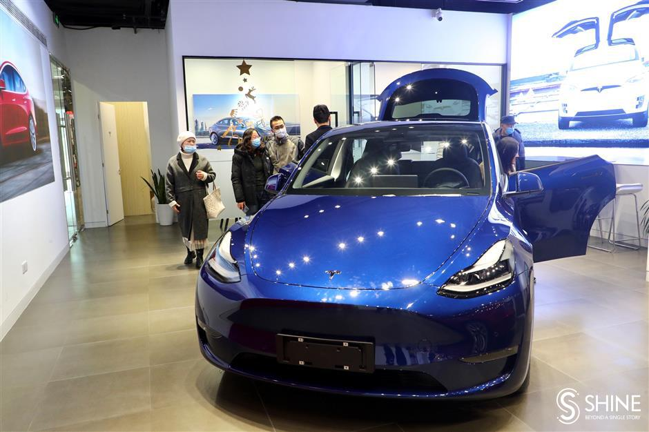 Tesla appears to have plenty of momentum after meteoric 2020