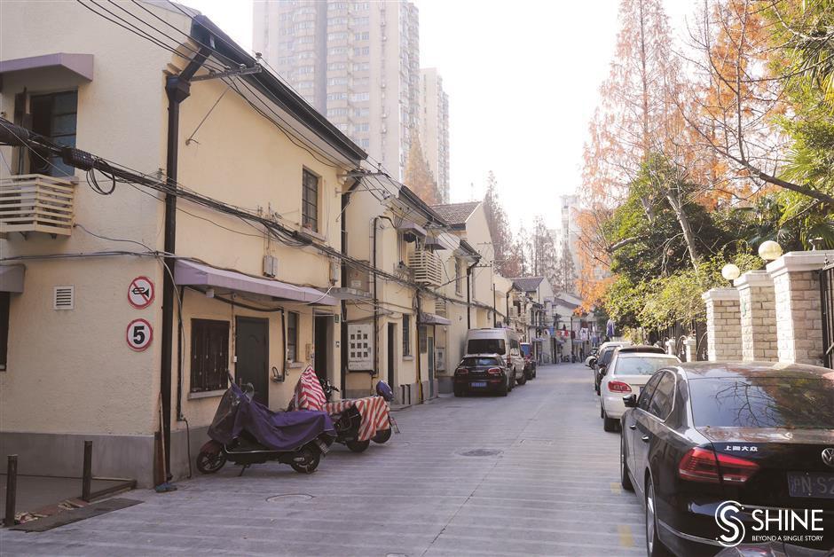 Western-style villas from a bygone era in Shanghai