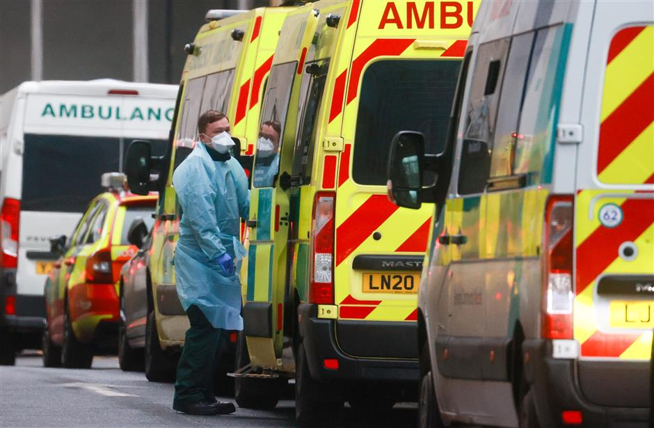 Leaked documents show London risks running out of hospital beds