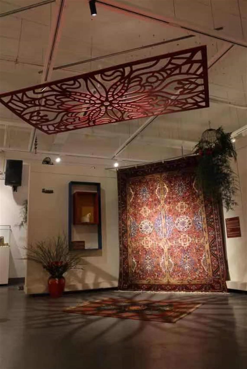 Ancient Persian carpets bring Silk Road to life
