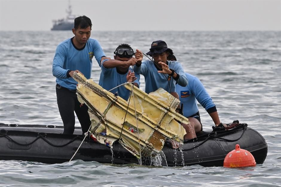 Indonesian naval ship catches signal believed to be from crashed plane: military chief