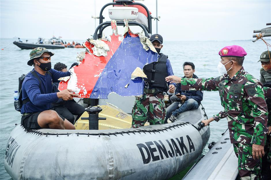 Black boxes of crashed Indonesian plane located