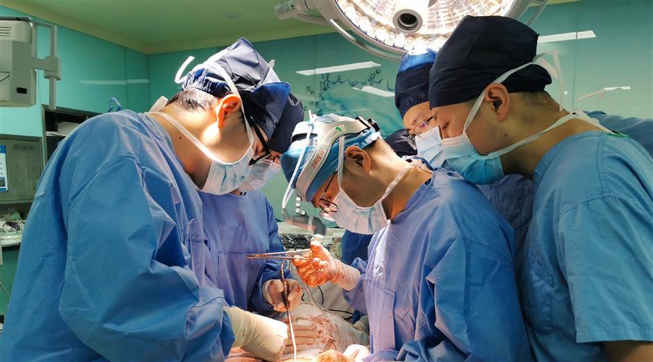 City doctors help patient breathe normally