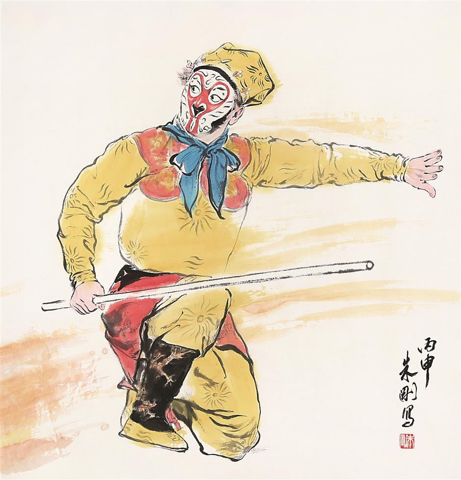 Exploits of the Monkey King beloved by Chinese young and old