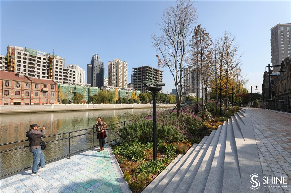 Historical sites preserved in redevelopment of lower Suzhou Creek