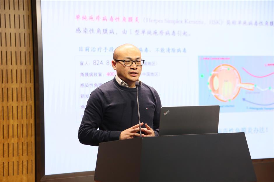 Local researchers develop cure for keratitis