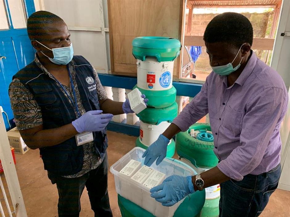 WHO plans global stockpile of Ebola shots