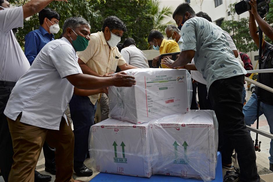 India begins airlift of coronavirus vaccines