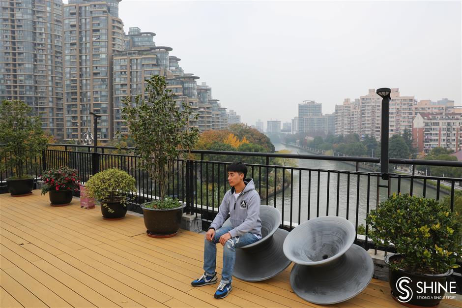 Suzhou Creek in Putuo District resurrects industrial heritage