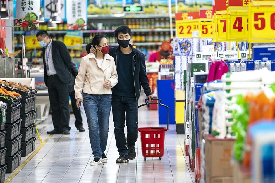 Chinas retail sales down 3.9 pct in 2020