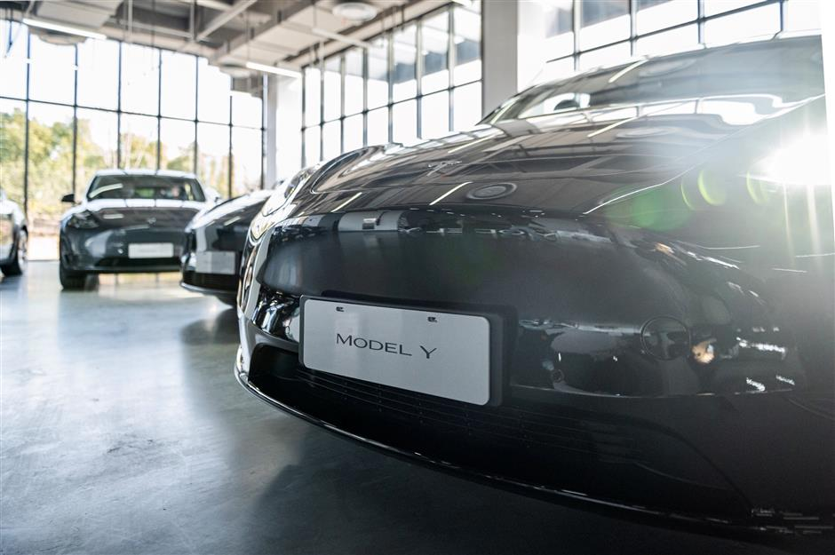 Tesla rolls out Model Y in Shanghai to offer a new experience