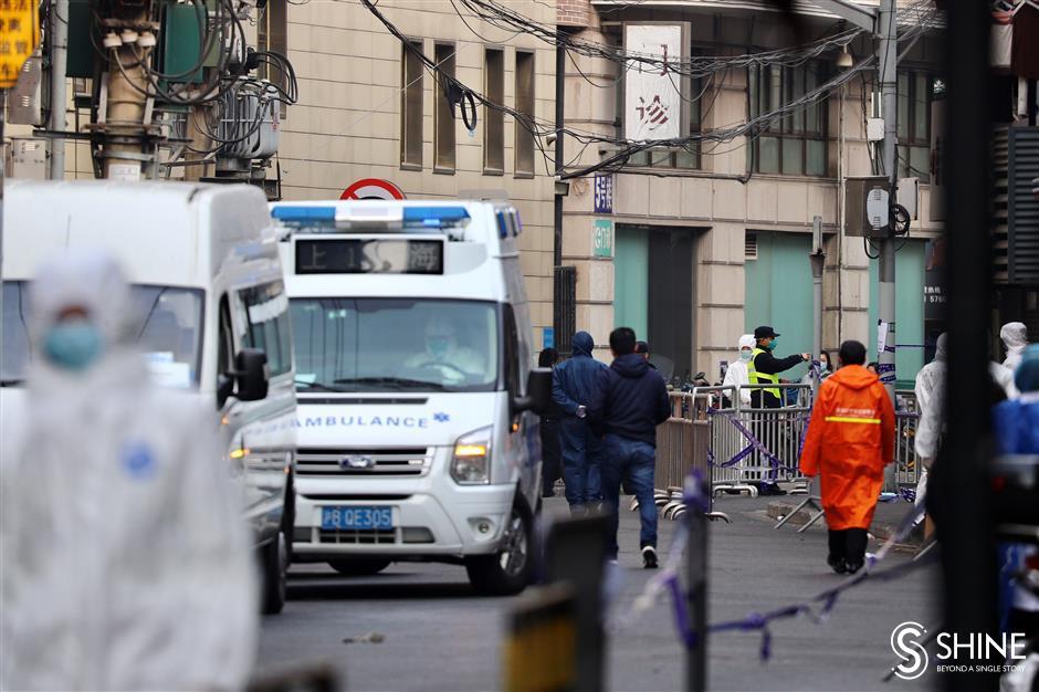 Filiali ospedaliere chiuse a Shanghai nei servizi ambulatoriali