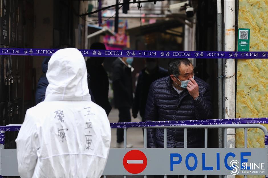 Zhaotong neighborhood goes into lockdown