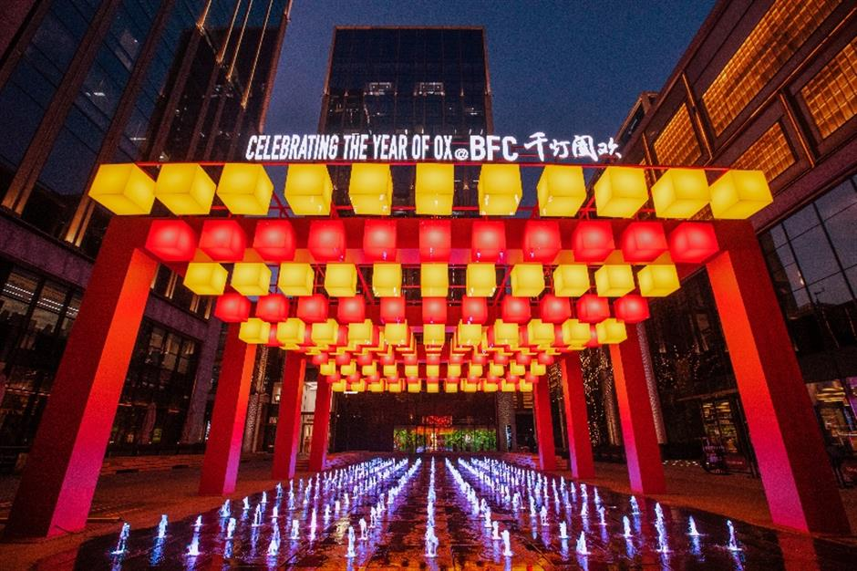Larger-than-life celebration of Year of the Ox