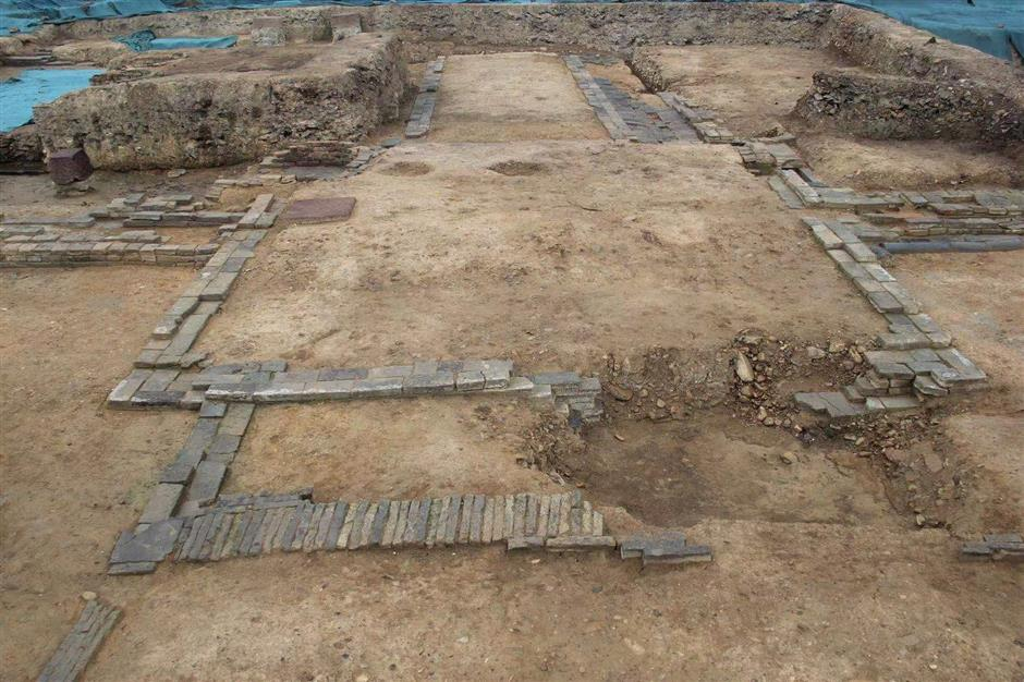 Ancient city discovered underneath Hangzhou