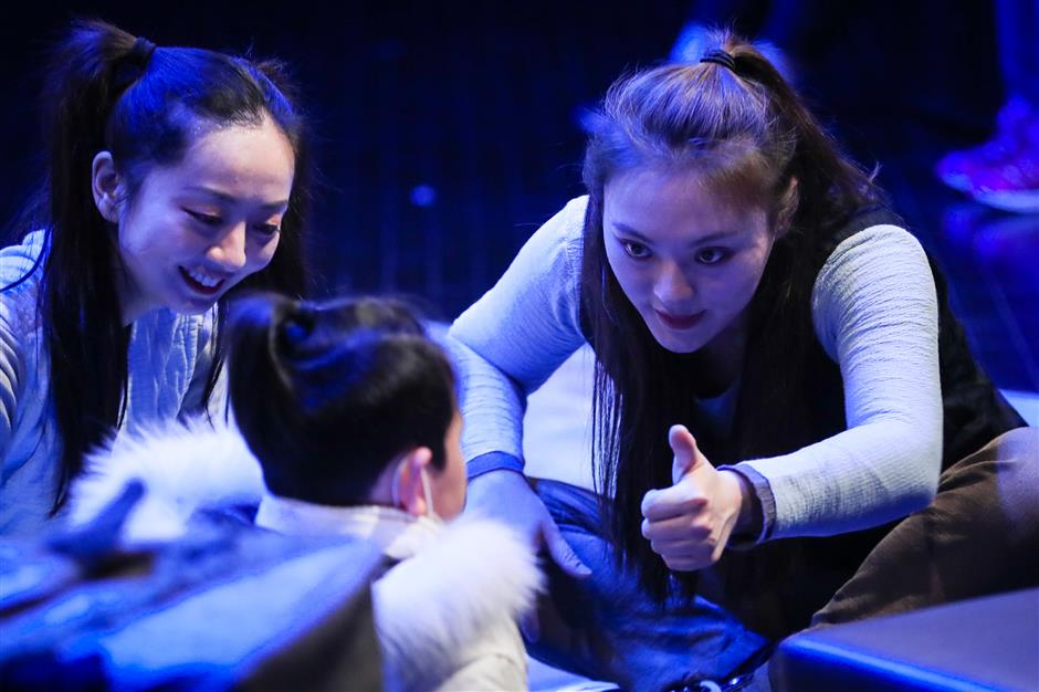Interactive plays inspire children with cognitive disorders