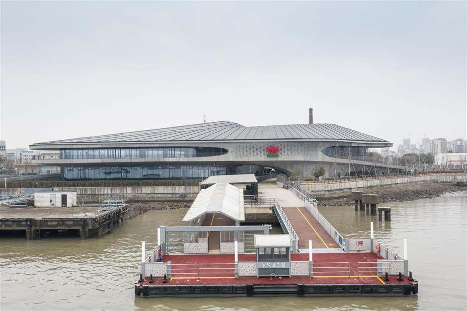 Modern ferry terminal links West Bund with Sanlin Town