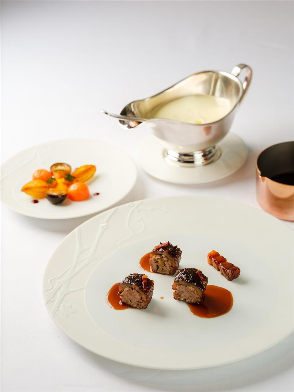 French chefs local experiment: When Chinese quality meets French finesse